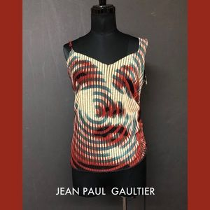Tops - SOLD! Jean Paul Gaultier Maille Print Top Blouse